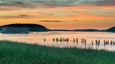 Fort Popham, Kennebec River, Popham Beach, Maine