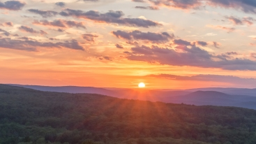 Shawangunks sunset